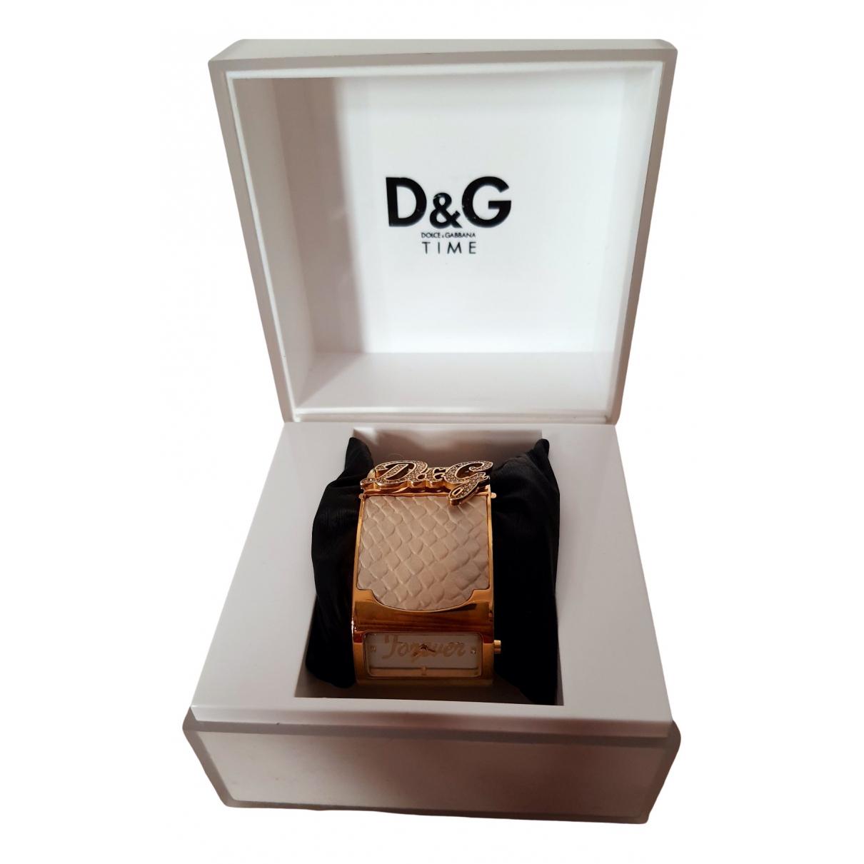 Dolce & Gabbana \N Gold Steel watch for Women \N