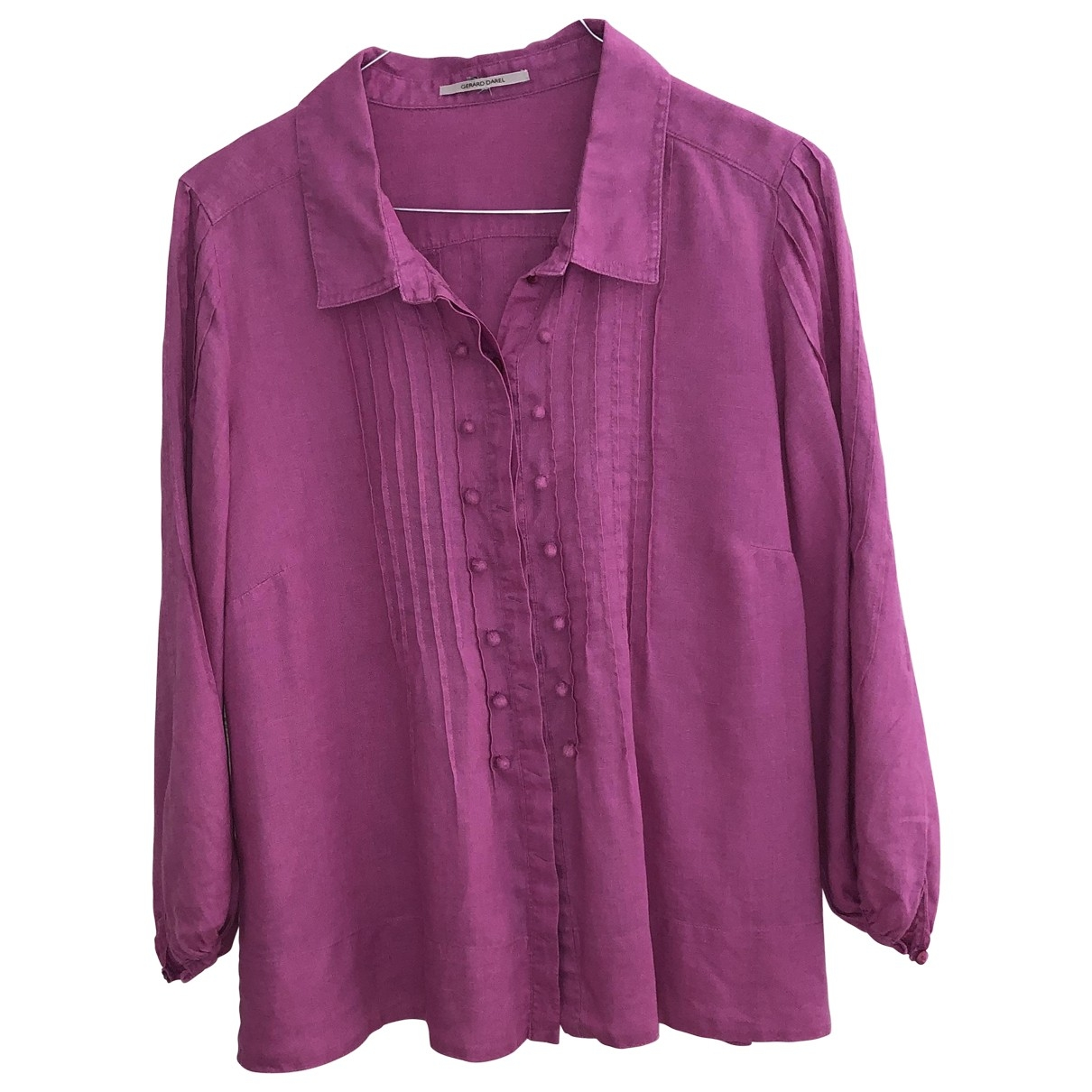Gerard Darel \N Top in  Rosa Leinen