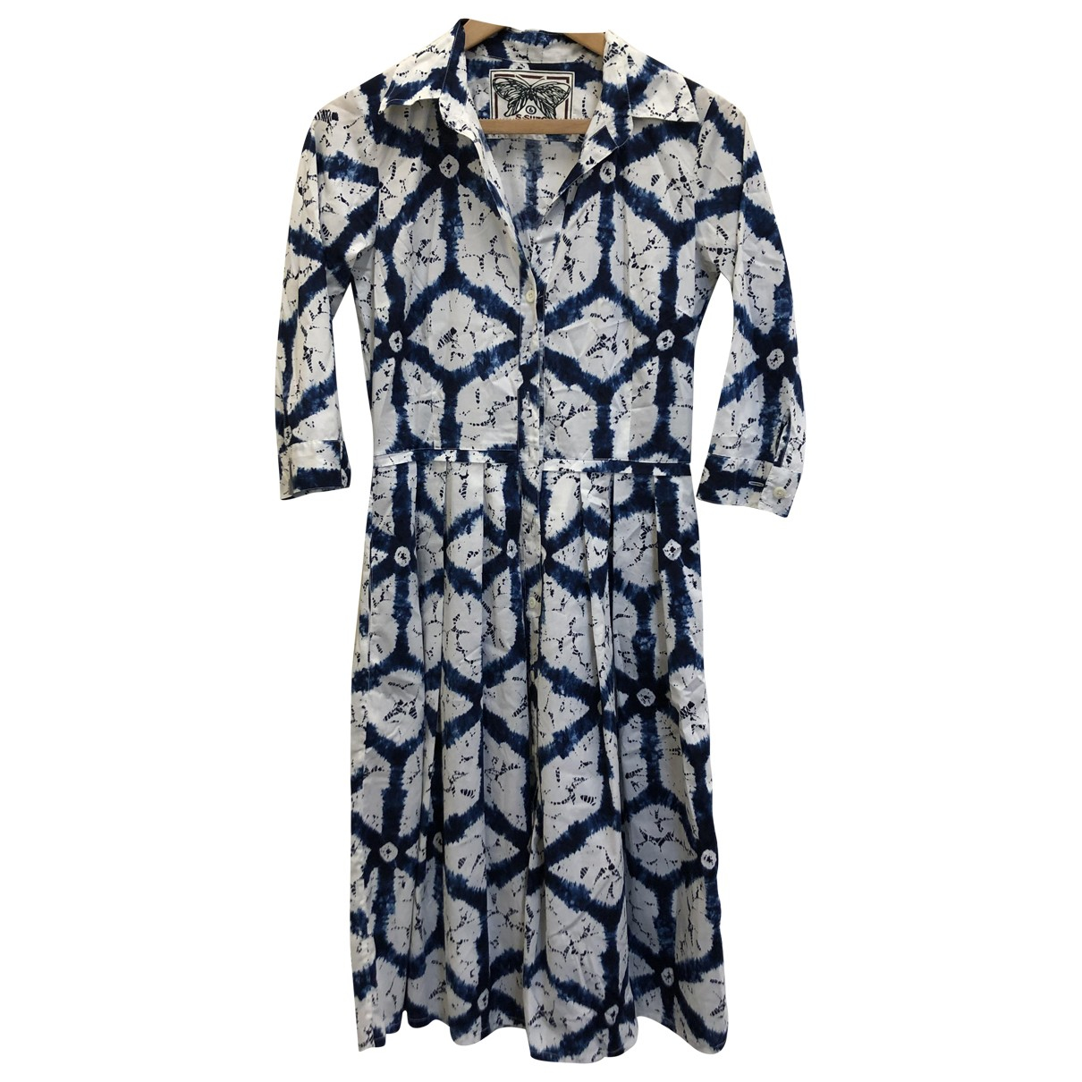 Samantha Sung \N Kleid in  Blau Baumwolle