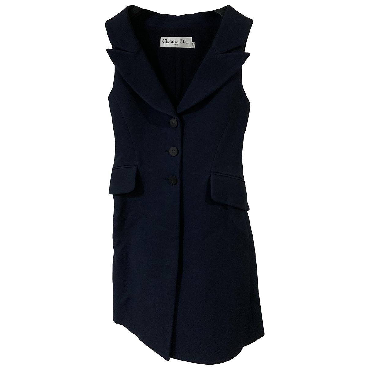 Dior \N Navy Wool dress for Women 34 FR