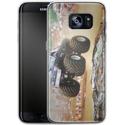 Samsung Galaxy S7 Edge Silikon Handyhuelle - Old School Jump von Bigfoot 4x4