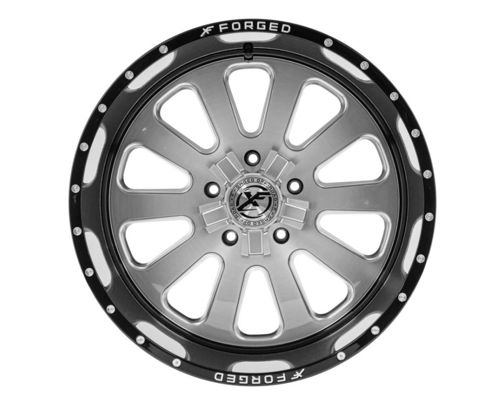 XF Off-Road XFX-302 Wheel 26x14 6x135|6x139.7 -76mm Gloss Black w/ Brushed Face