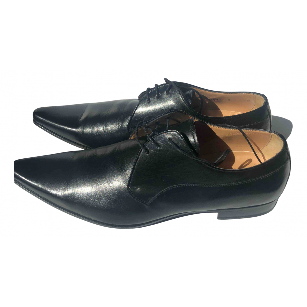 Dolce & Gabbana \N Black Leather Lace ups for Men 8 UK