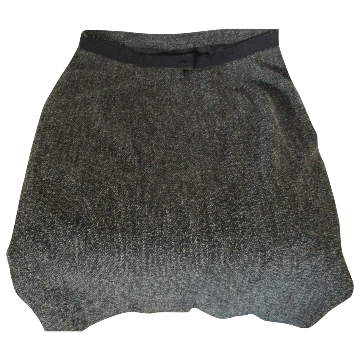 Max Mara \N Grey Wool skirt for Women 42 IT