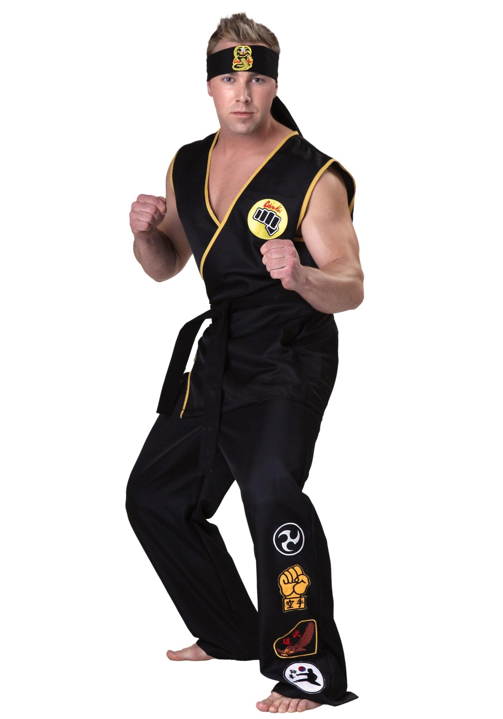 Adult Karate Kid Cobra Kai Costume