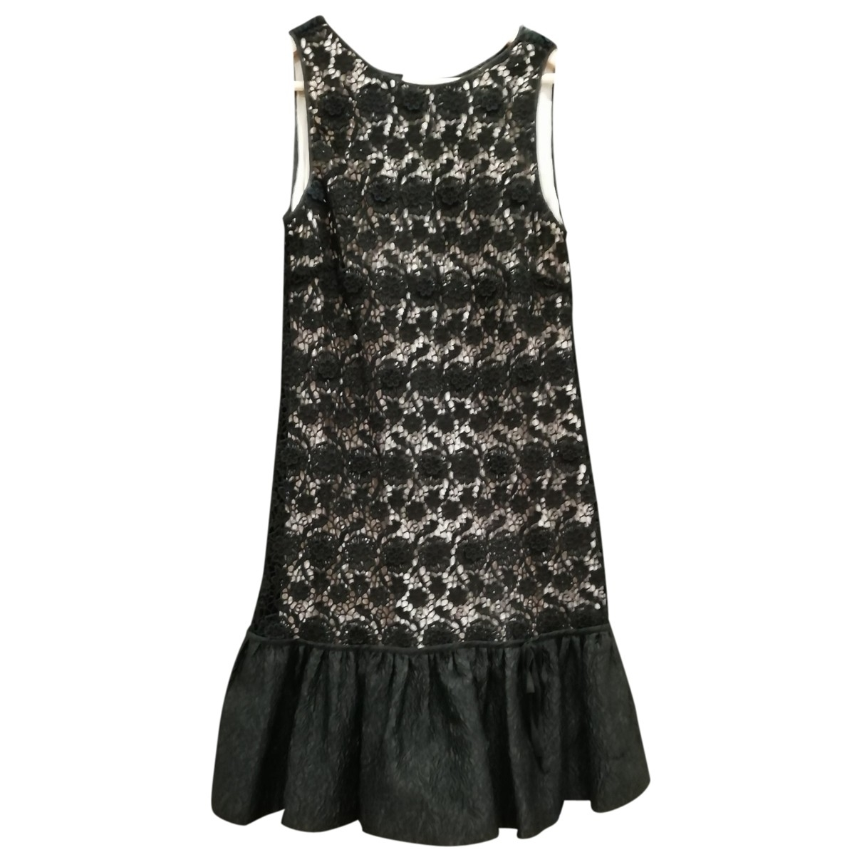 Red Valentino Garavani \N Kleid in  Schwarz Synthetik