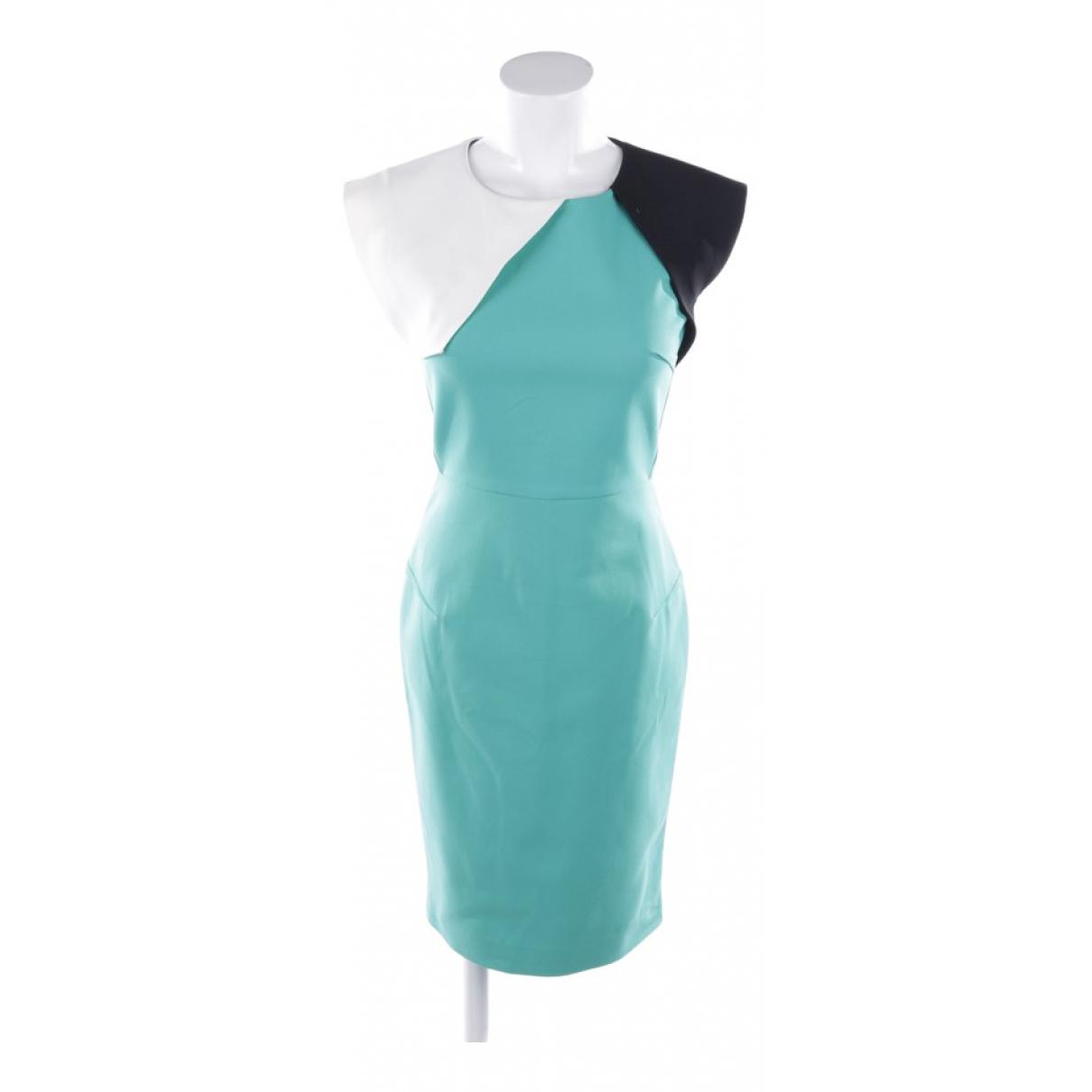 Roland Mouret \N Multicolour Cotton dress for Women 36 FR