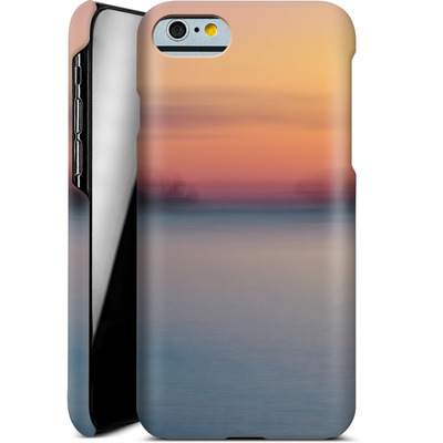 Apple iPhone 6s Smartphone Huelle - Sea Sunset Abstract 2 von Joy StClaire