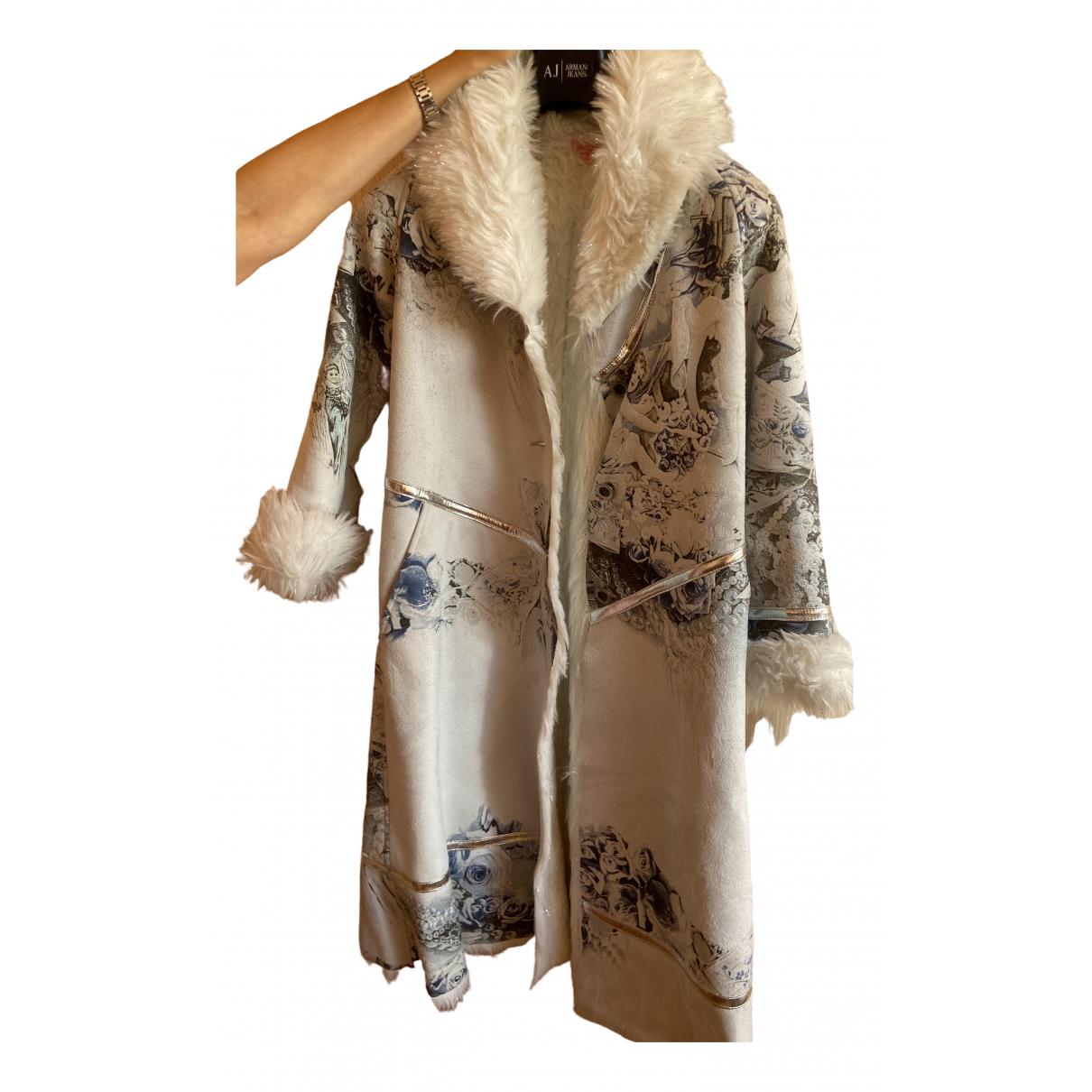 Roberto Cavalli - Blousons.Manteaux   pour enfant - blanc