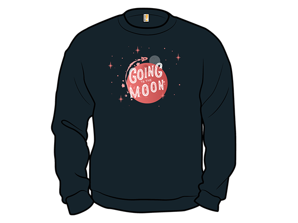 Going To The Moon T Shirt