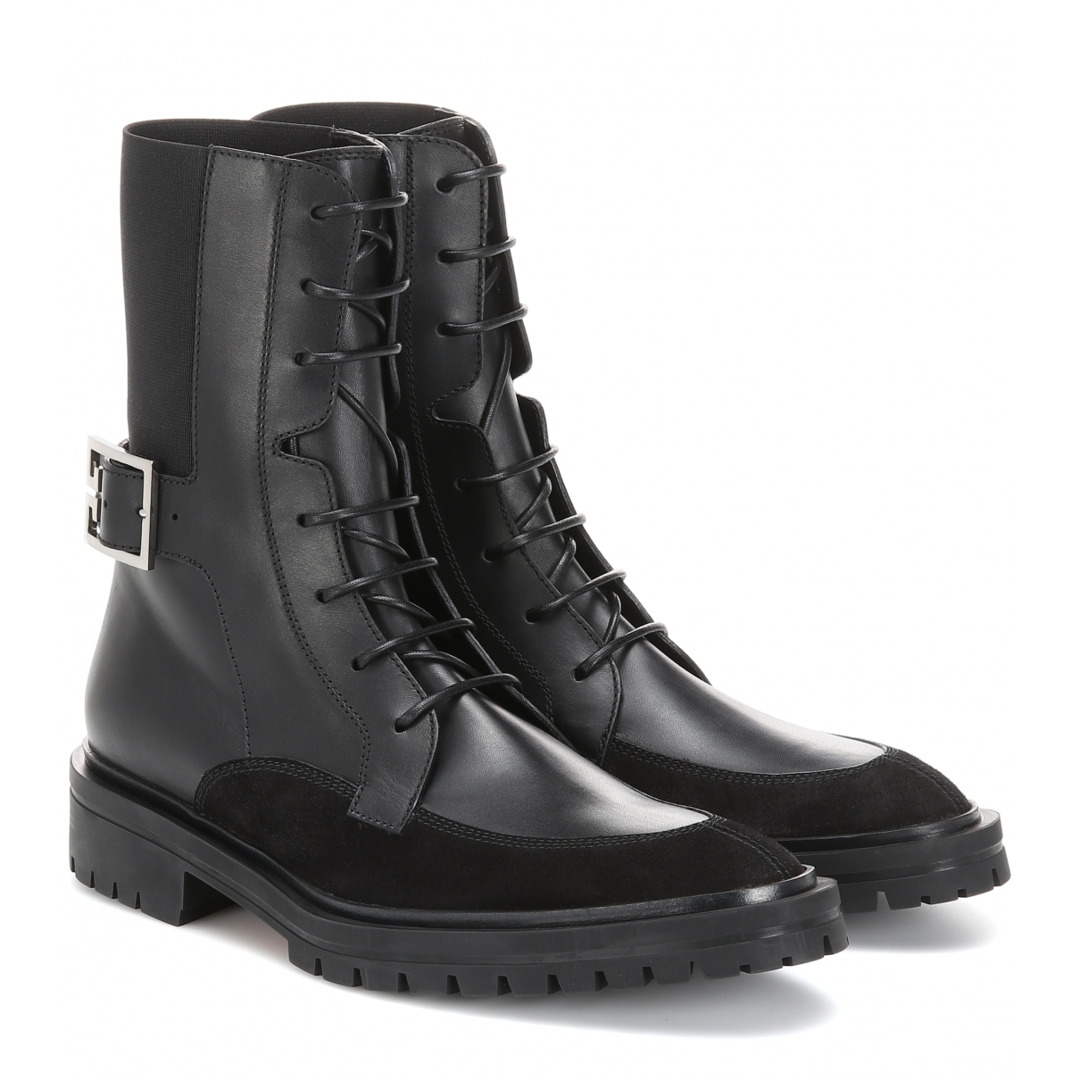 Givenchy \N Black Leather Boots for Women 40 EU