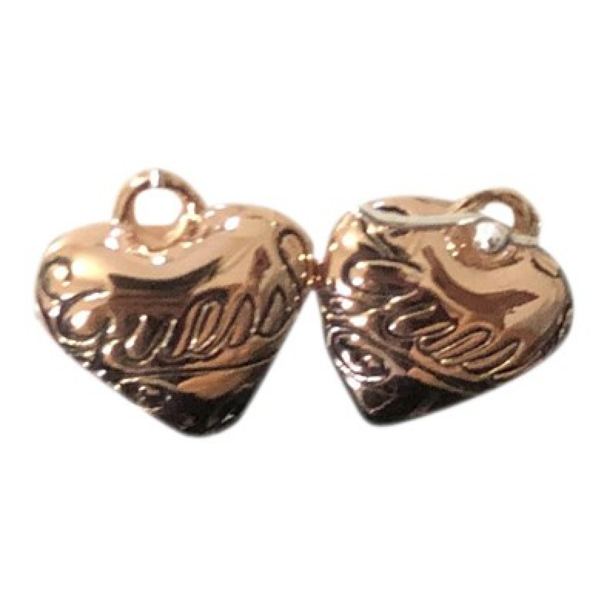 Guess - Boucles doreilles   pour femme en plaque or