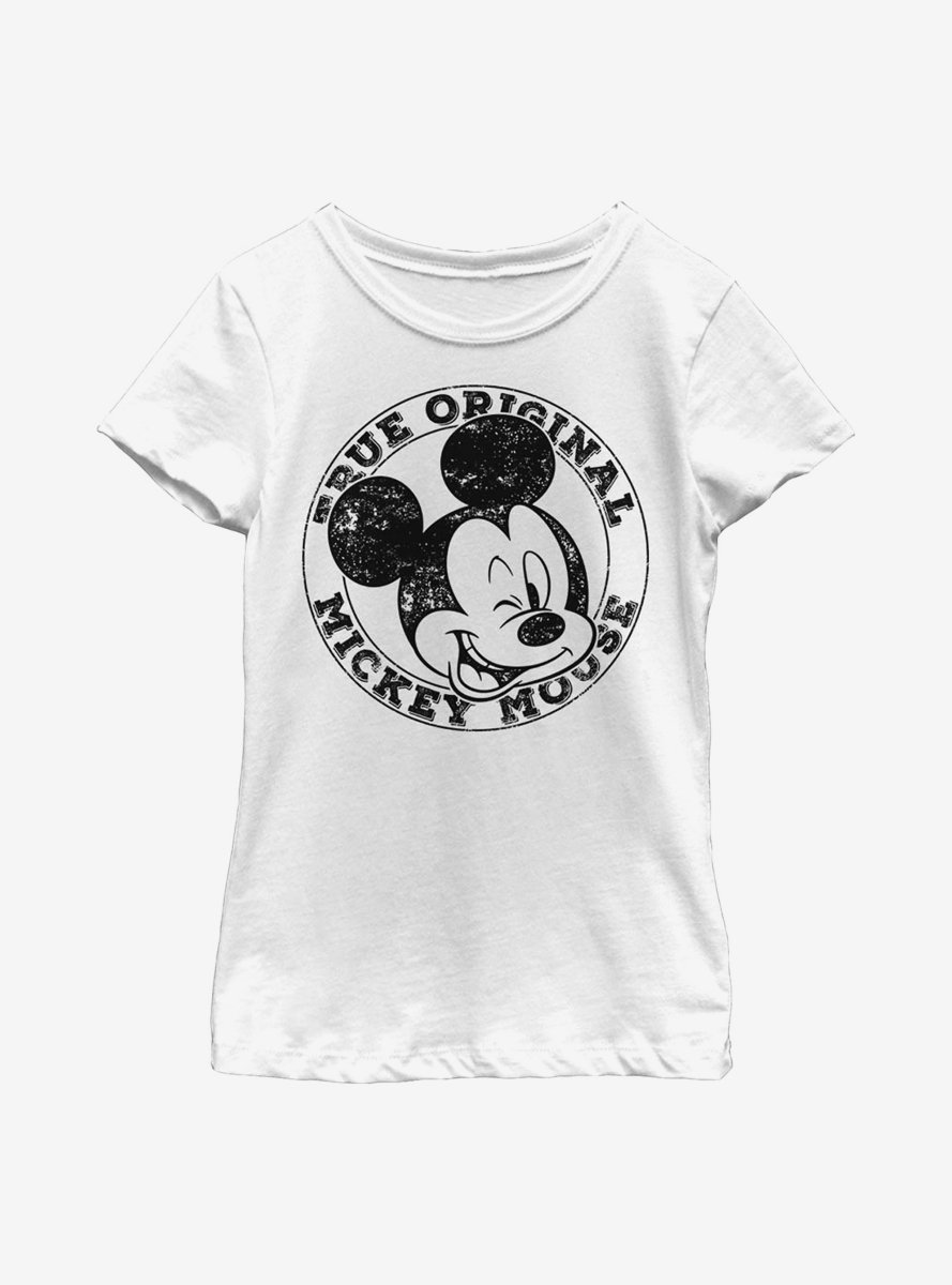Disney Mickey Mouse Original Mickey Youth Girls T-Shirt