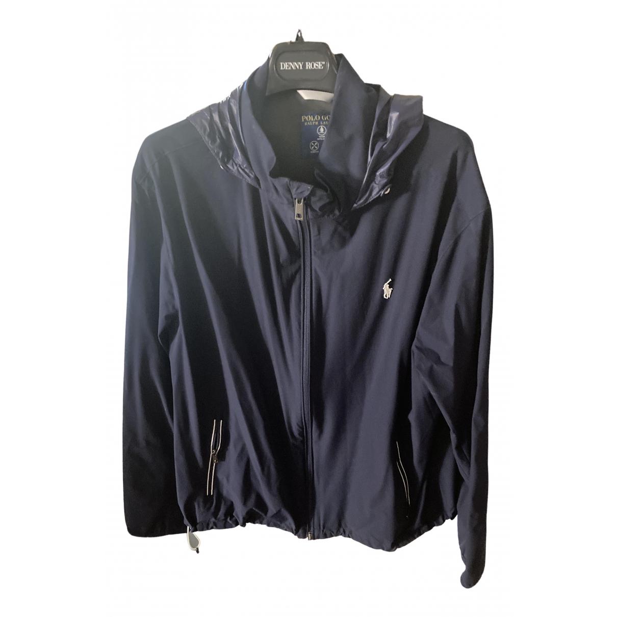 Polo Ralph Lauren \N Jacke in  Blau Synthetik