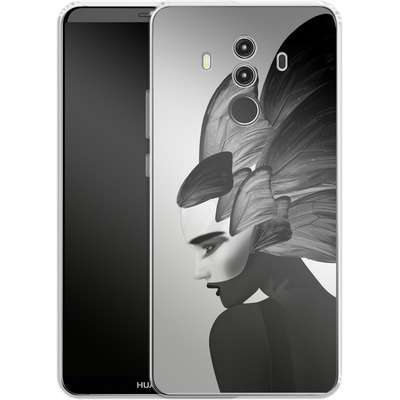 Huawei Mate 10 Pro Silikon Handyhuelle - Lady D von Mark Ashkenazi