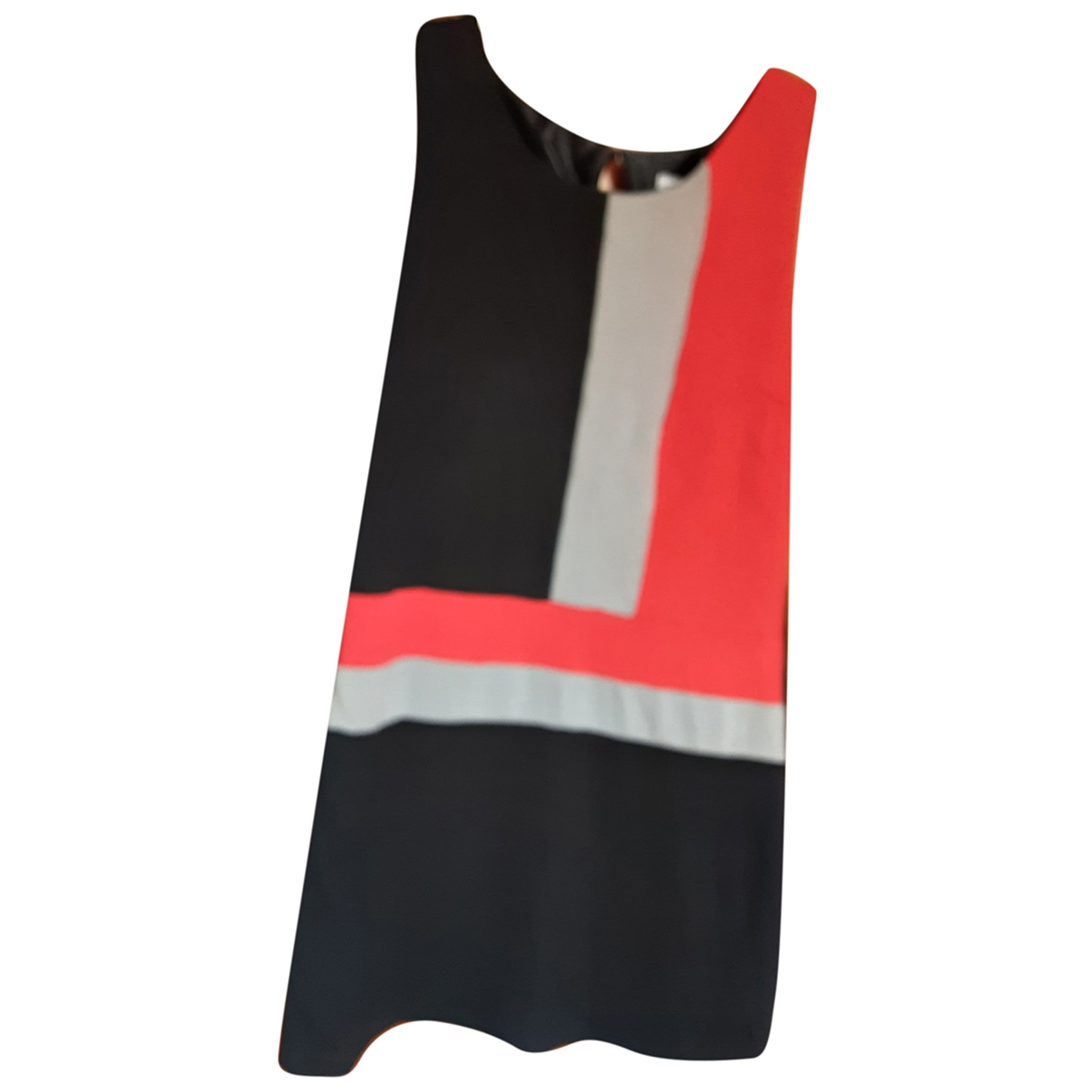 Non Signé / Unsigned \N Black Cotton dress for Women 40 FR