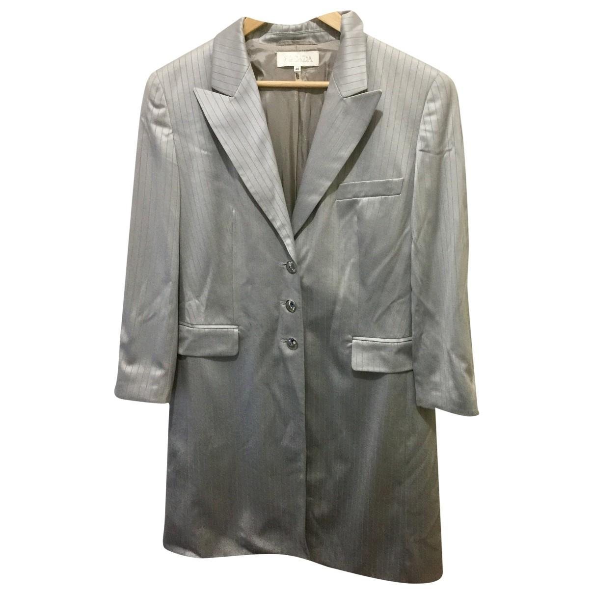 Escada \N Grey Wool coat for Women 42 FR