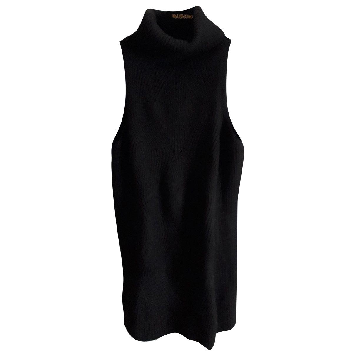Non Signé / Unsigned \N Black Wool Knitwear for Women 44 IT