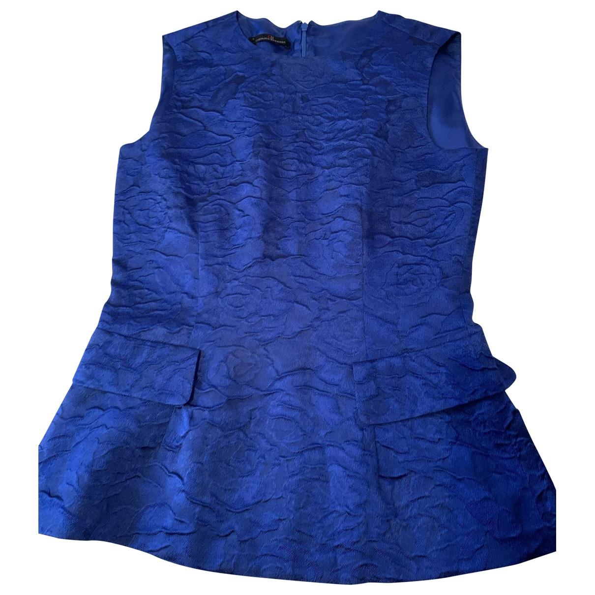 Carolina Herrera \N Blue Cotton  top for Women 4 US