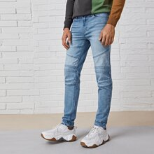 Jeans mit Paisley Muster