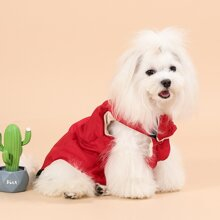 Abrigo de perro con cremallera