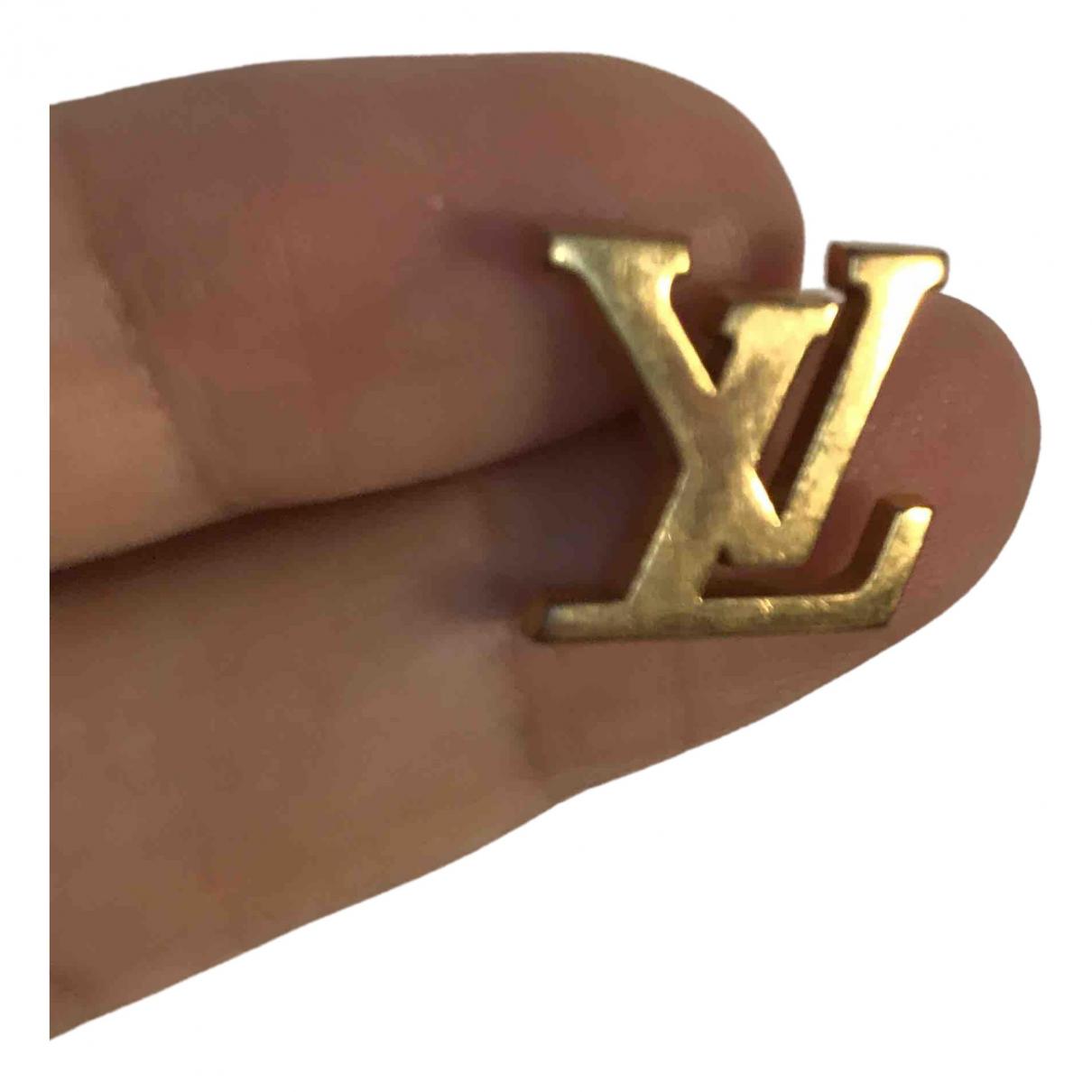 Louis Vuitton \N Brosche in  Gold Metall
