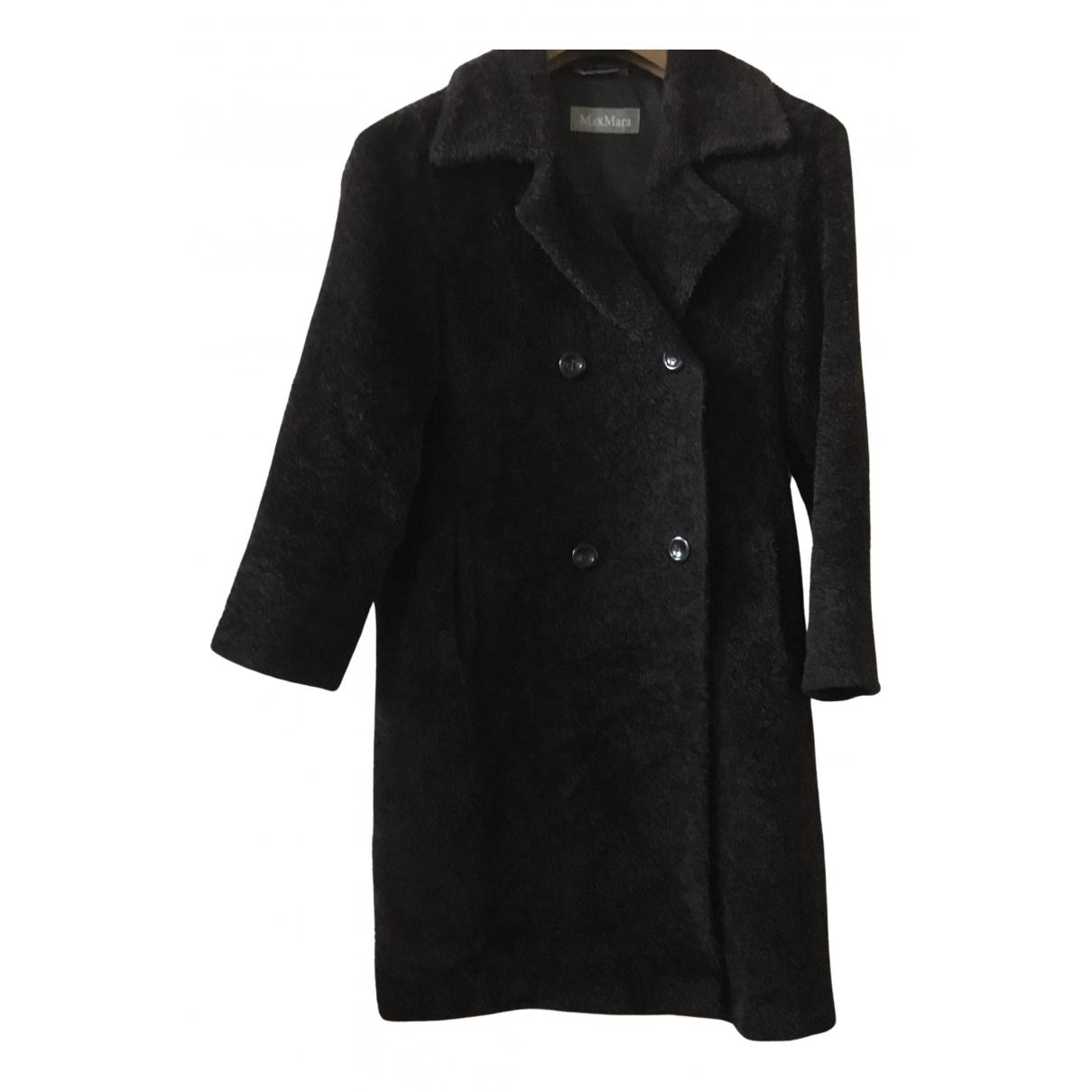 Max Mara N Brown Wool coat for Women 38 FR