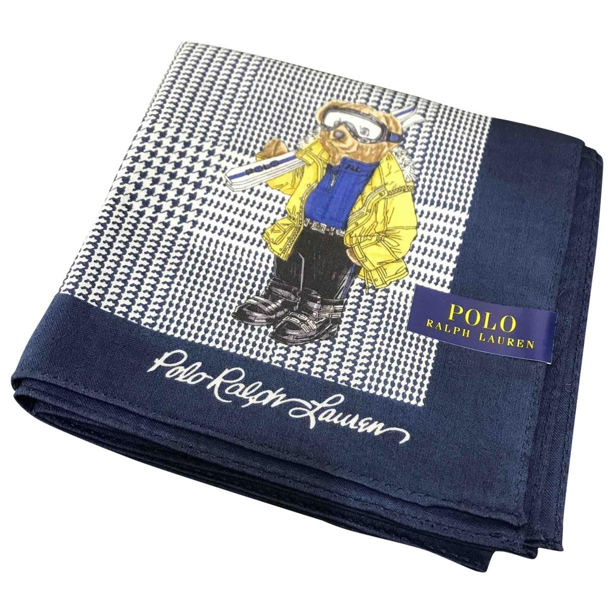 Polo Ralph Lauren \N Blue Cotton scarf & pocket squares for Men \N