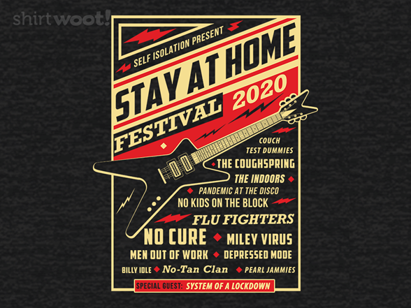 Quarantine Festival Remix T Shirt