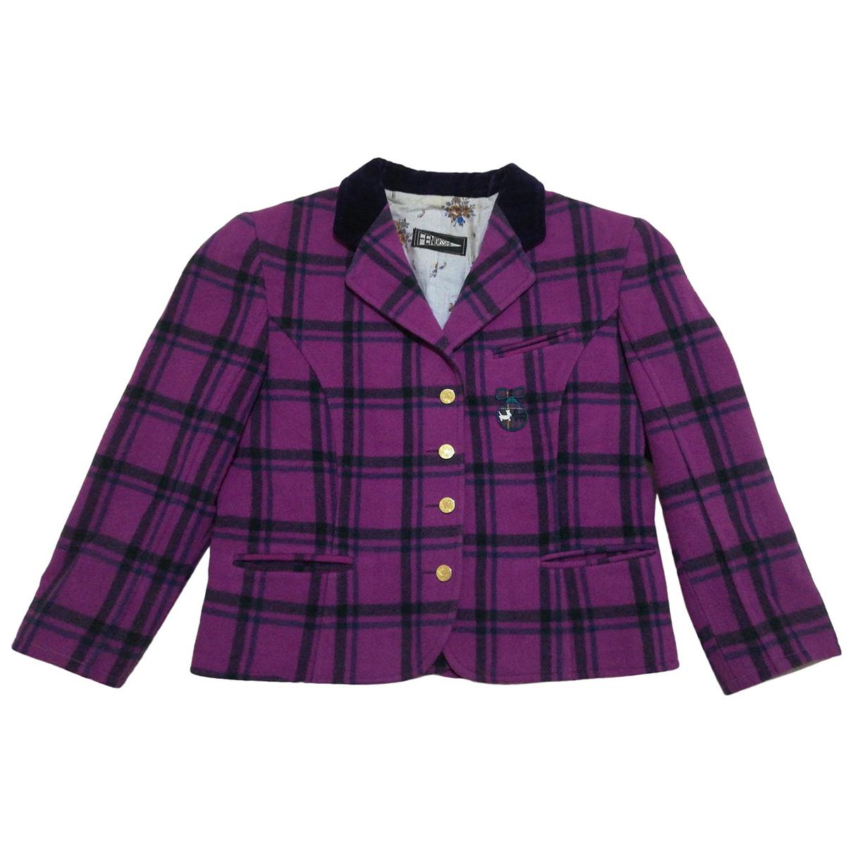 Fendissime - Veste   pour femme en laine - multicolore