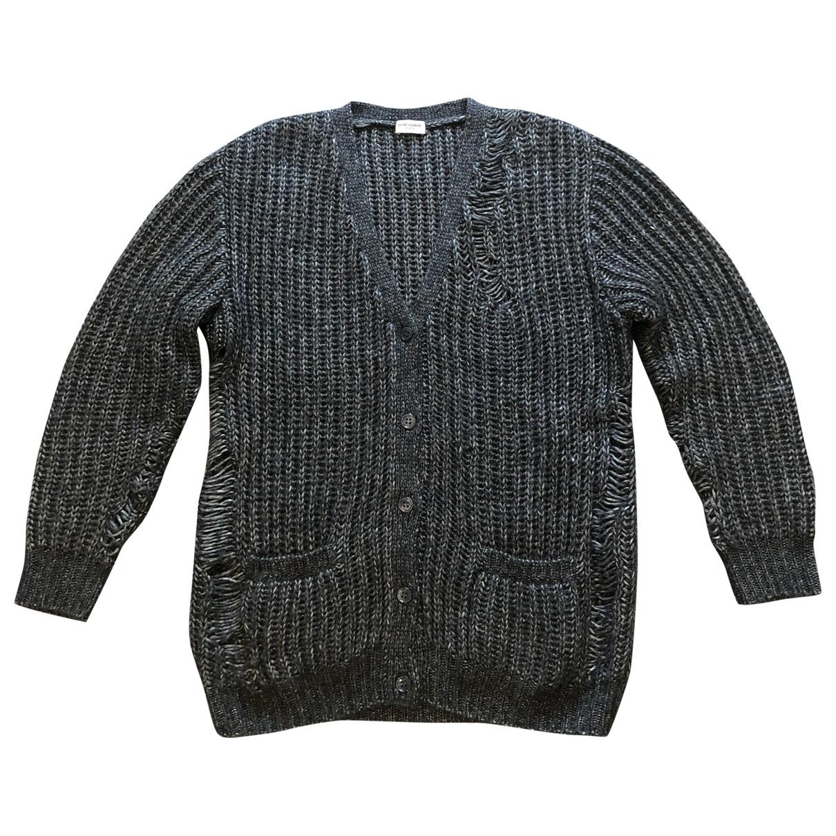 Saint Laurent \N Pullover in  Schwarz Polyester