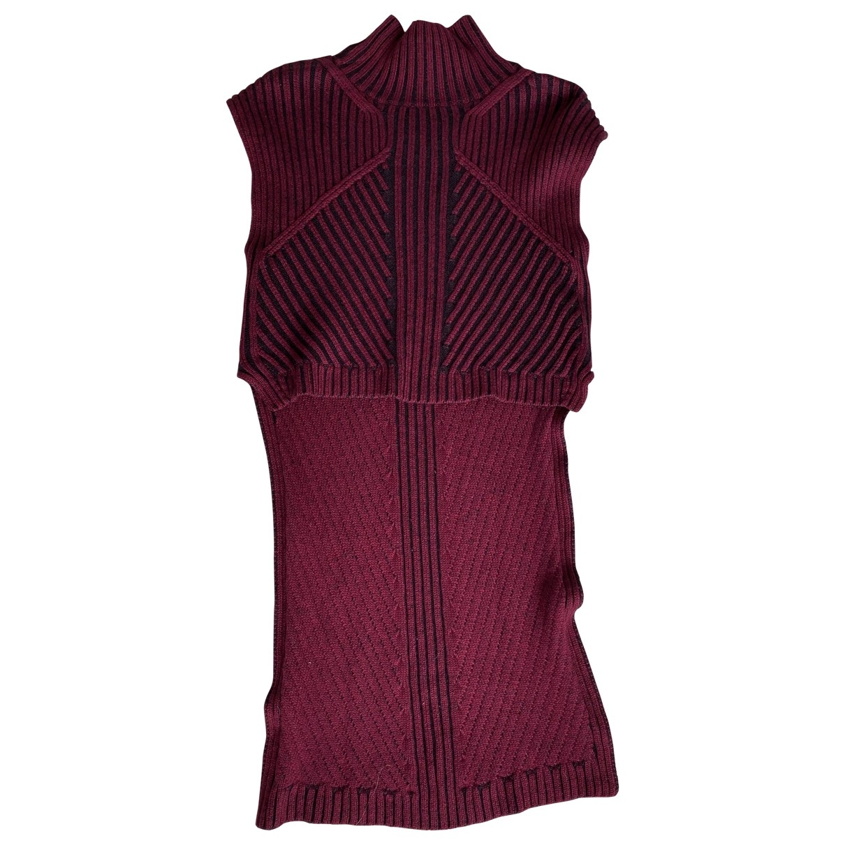 Bcbg Max Azria \N Pullover in  Bordeauxrot Wolle