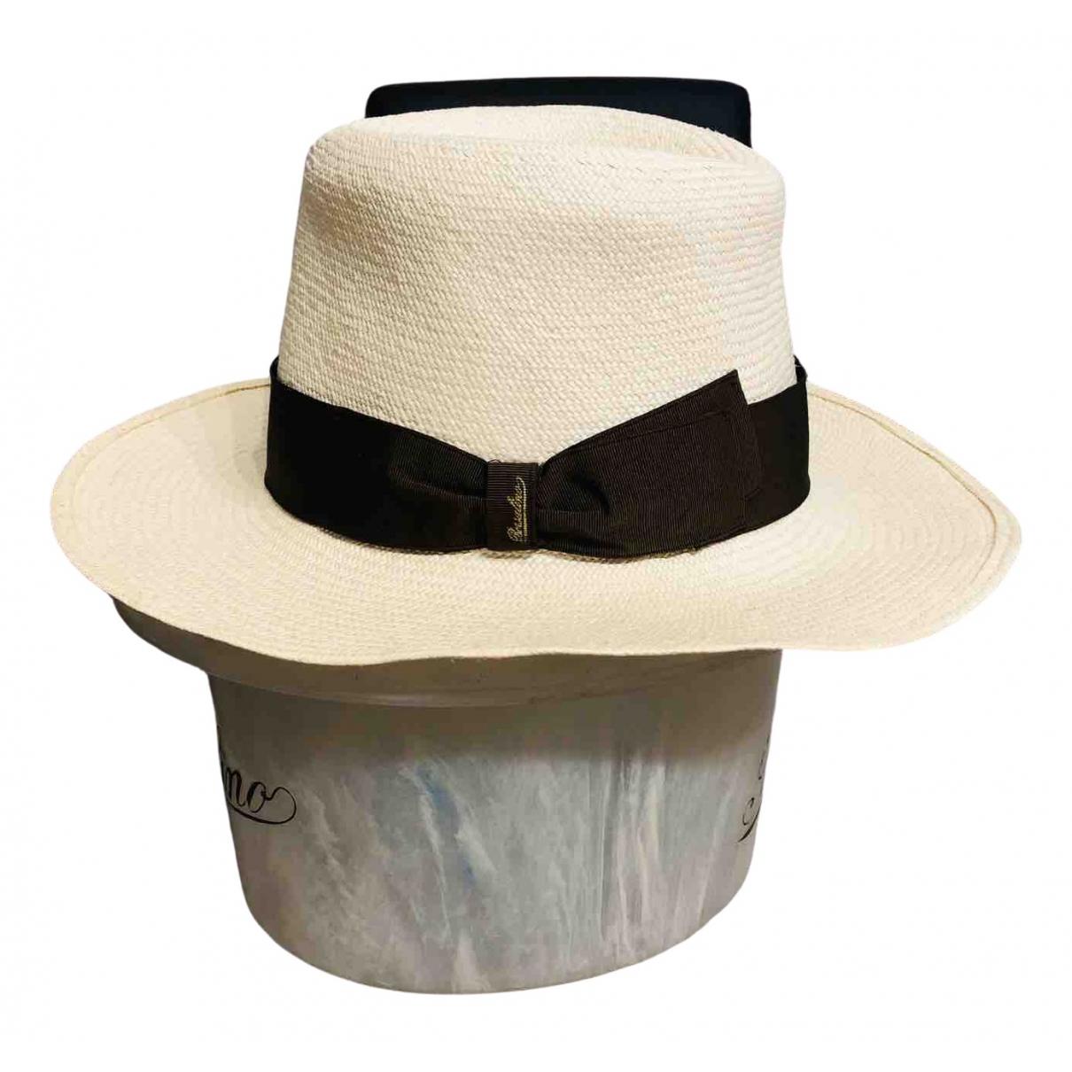 Borsalino - Chapeau & Bonnets   pour homme en paille