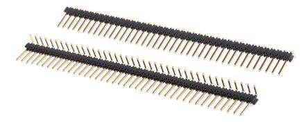 Stelvio Kontek , 472, 40 Way, 1 Row, Right Angle Pin Header (5)