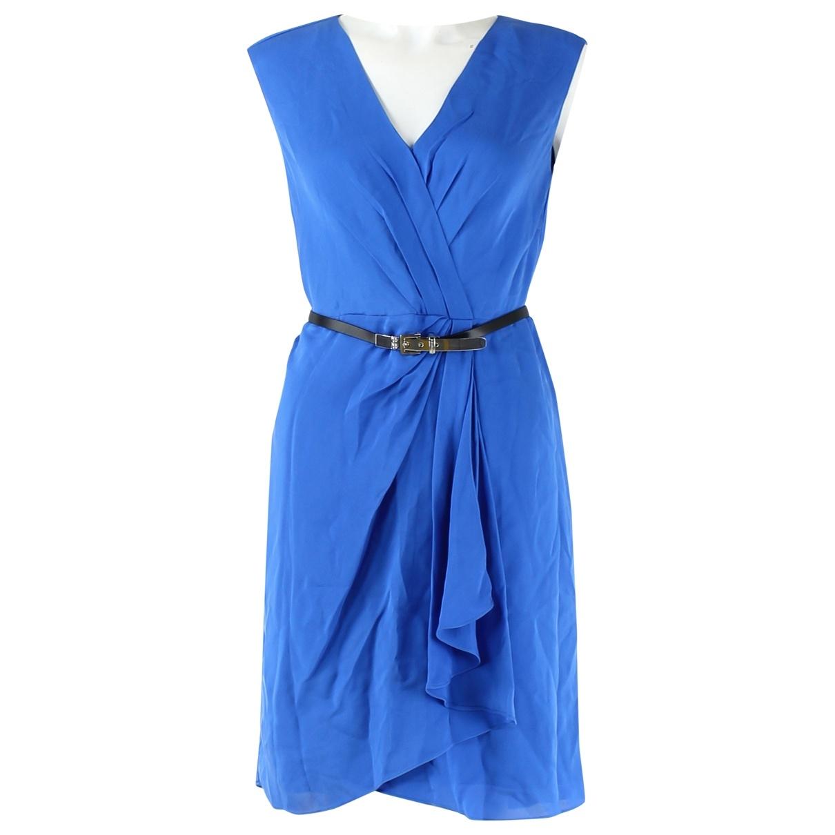 Alexander Mcqueen \N Kleid in  Blau Synthetik