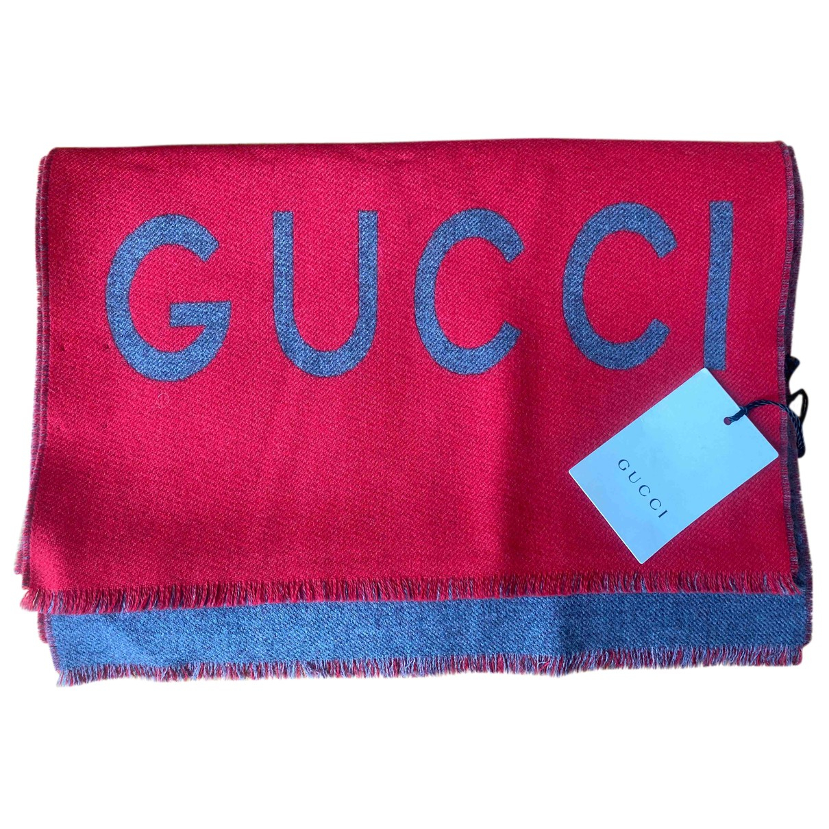 Gucci \N Tuecher, Schal in  Rot Wolle