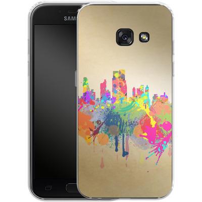 Samsung Galaxy A3 (2017) Silikon Handyhuelle - New York Skyline von Mark Ashkenazi