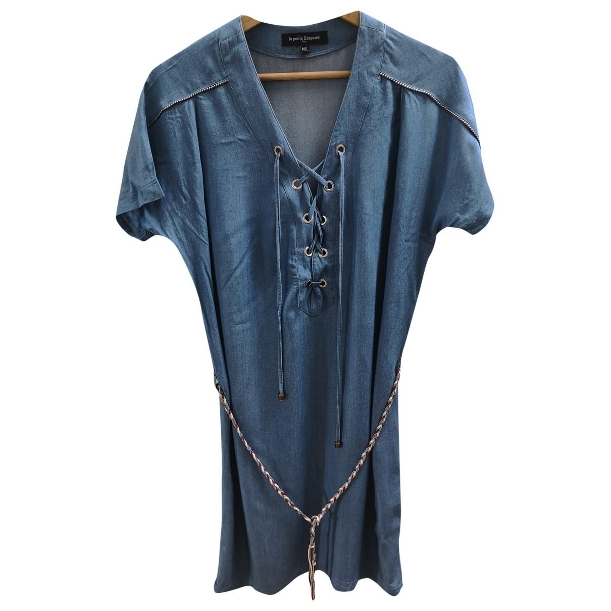 La Petite Francaise - Robe   pour femme - bleu