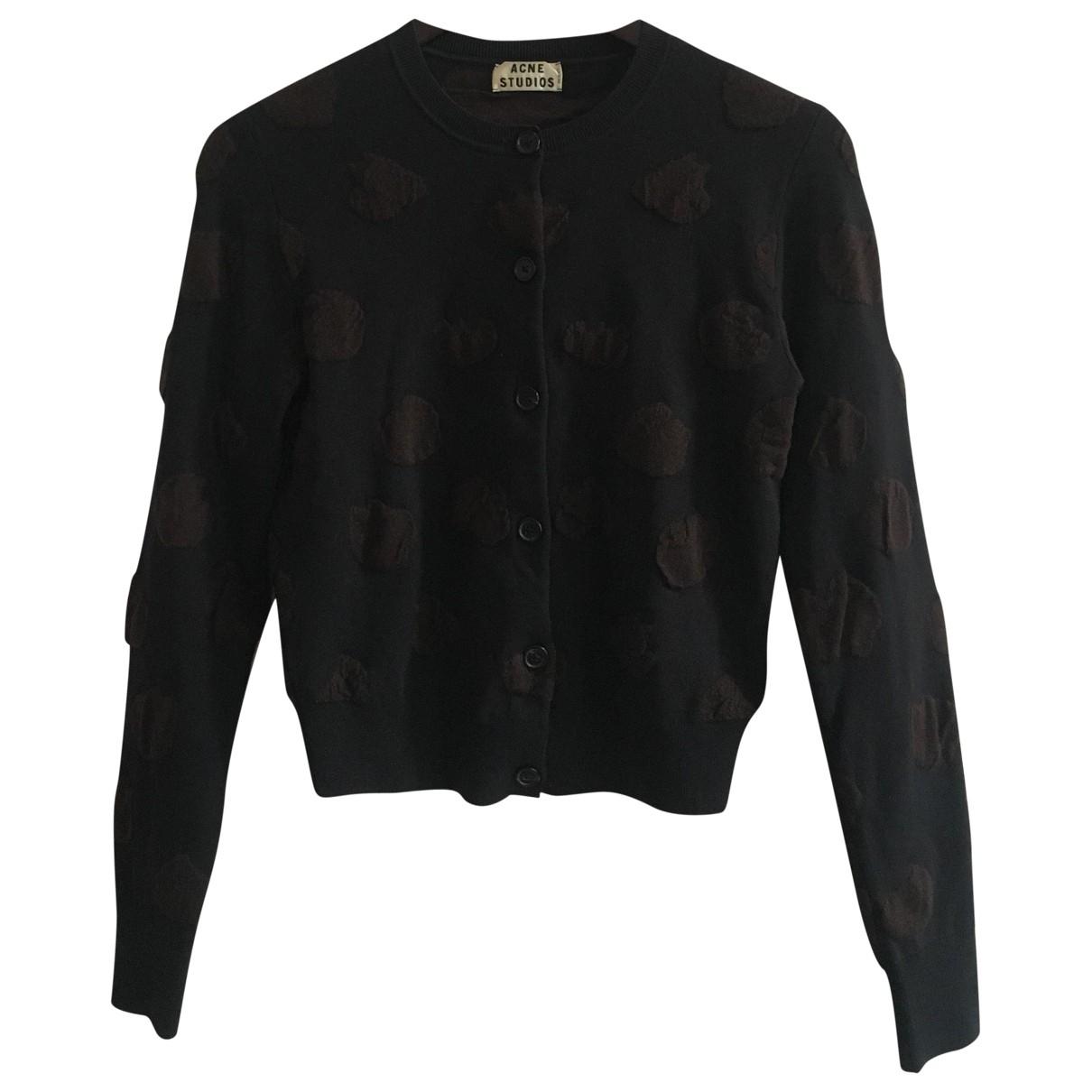 Acne Studios \N Black Wool Knitwear for Women S International