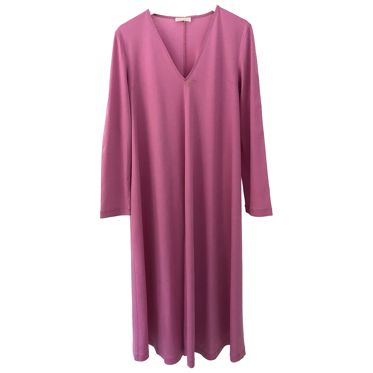 Stine Goya \N Kleid in  Rosa Baumwolle