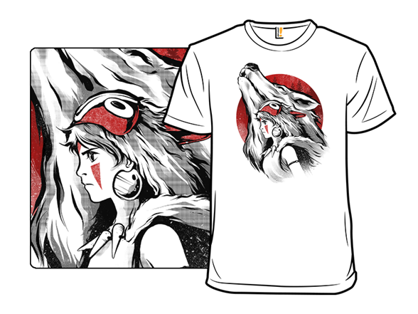 The Princess And The Wolf T Shirt