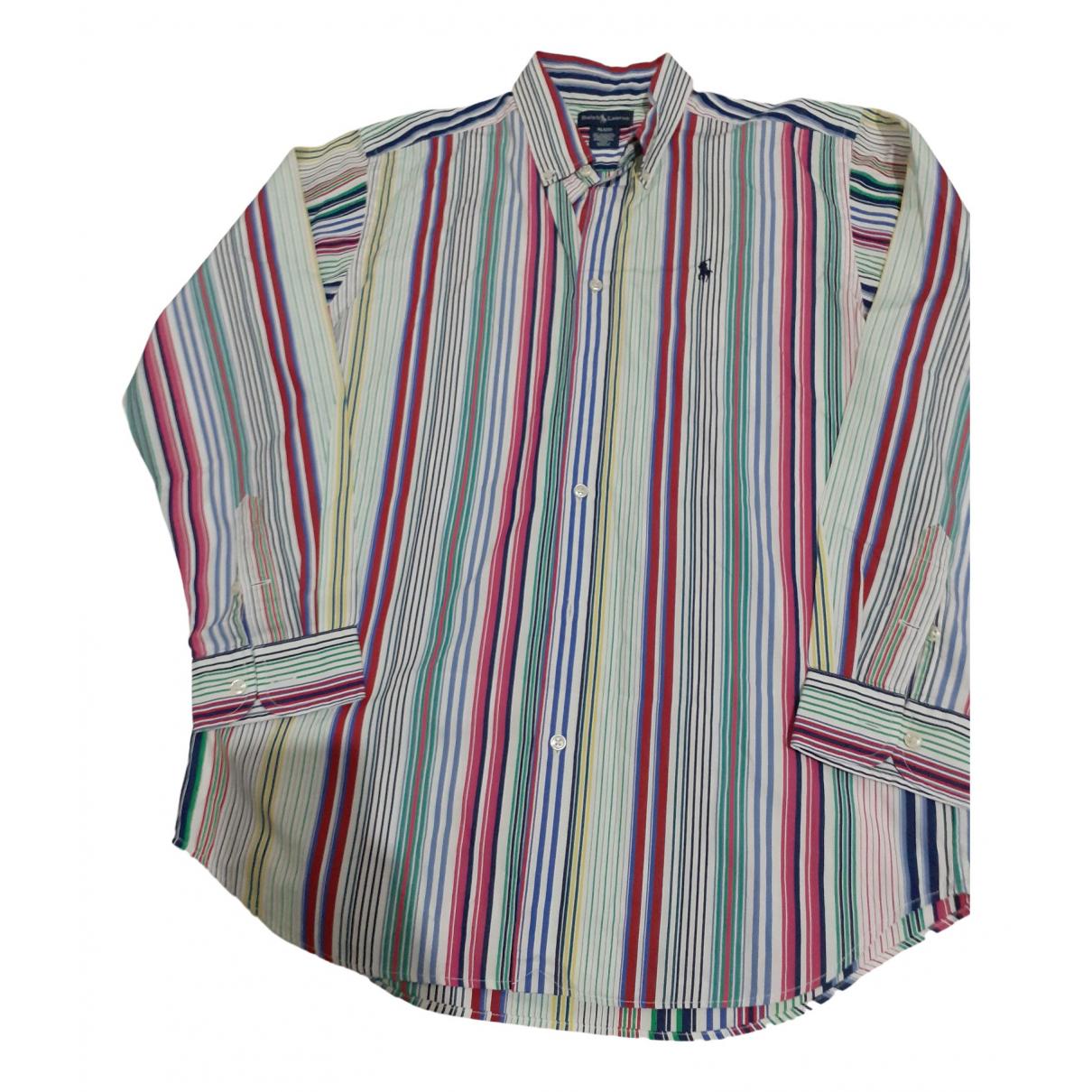 Ralph Lauren N Multicolour Cotton Shirts for Men XL International