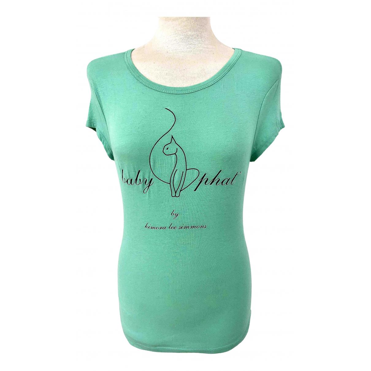 Kimora Lee Simmons - Top   pour femme en coton - vert