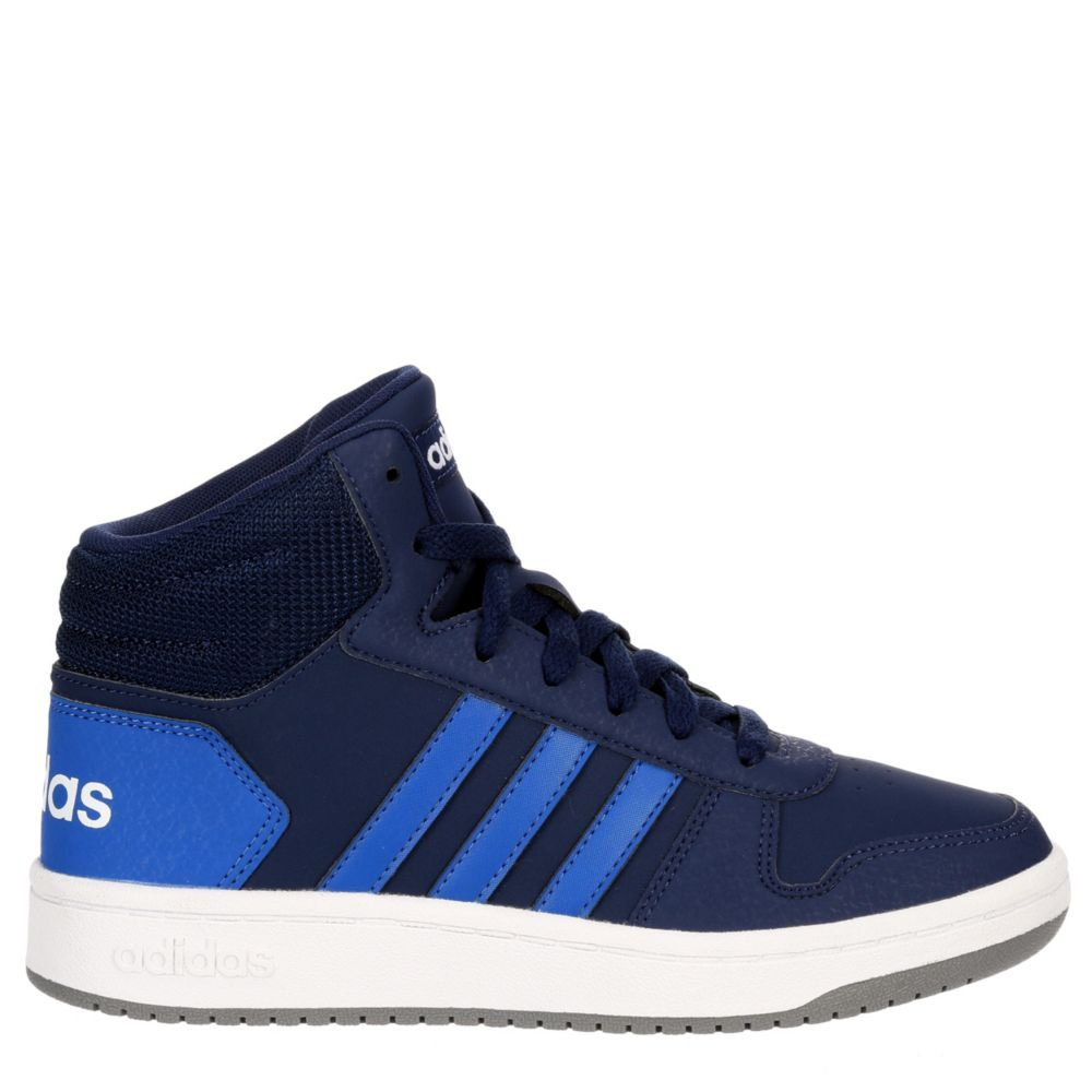 Adidas Boys Hoops 2.0 Mid Shoes Sneakers