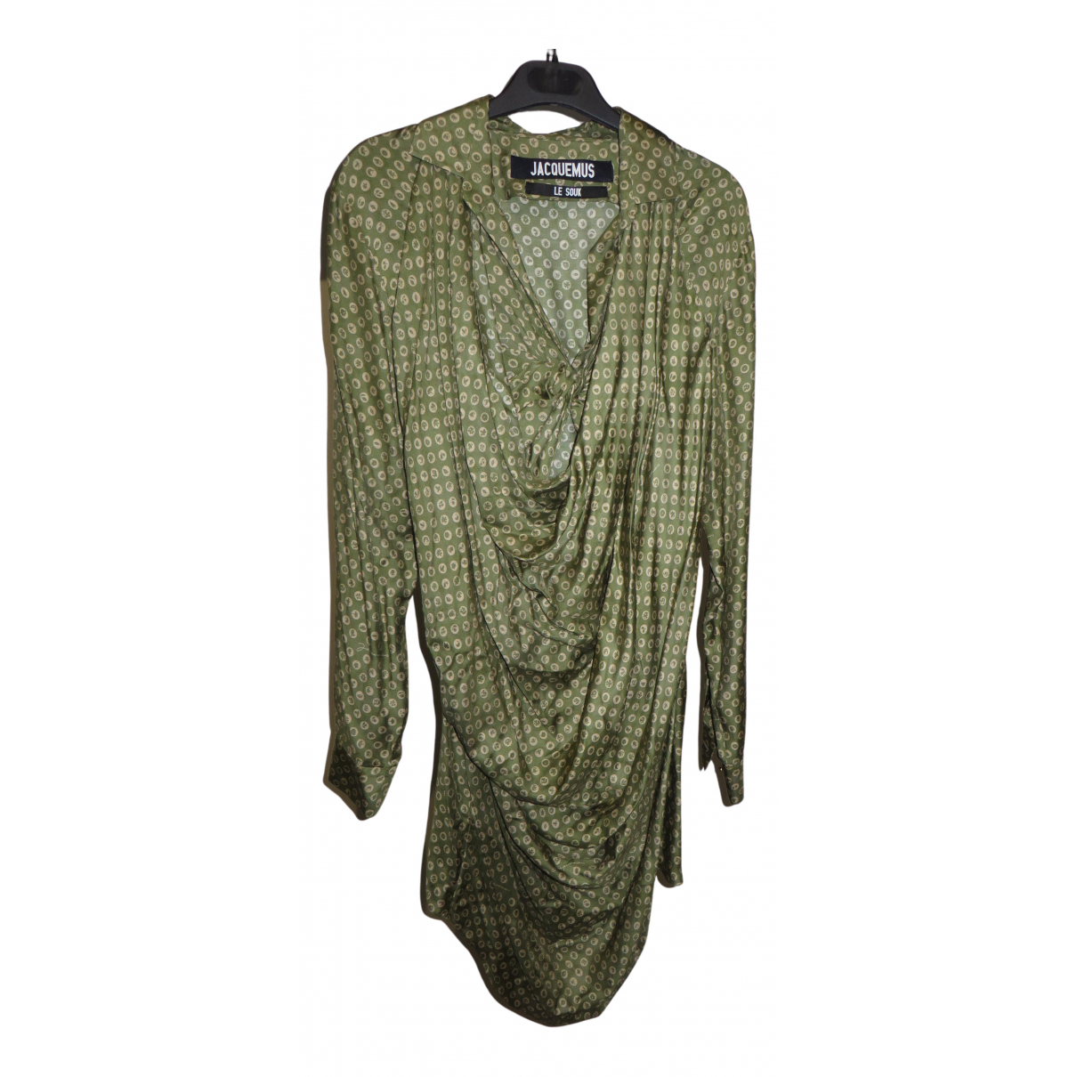 Jacquemus Le Souk Kleid in  Gruen Baumwolle