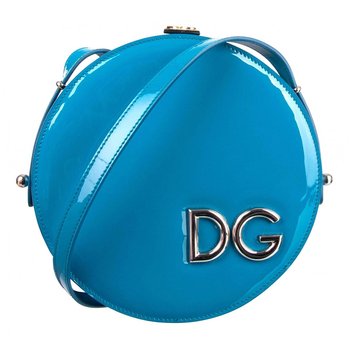 Dolce & Gabbana \N Blue Patent leather handbag for Women \N
