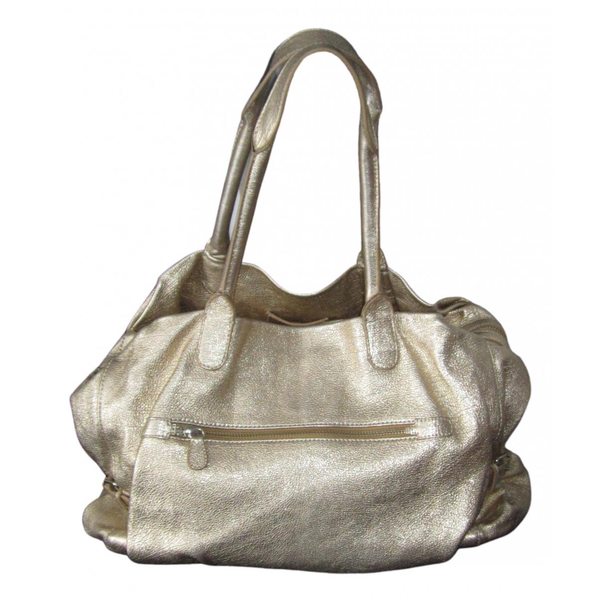 Vanessa Bruno N Gold Leather handbag for Women N