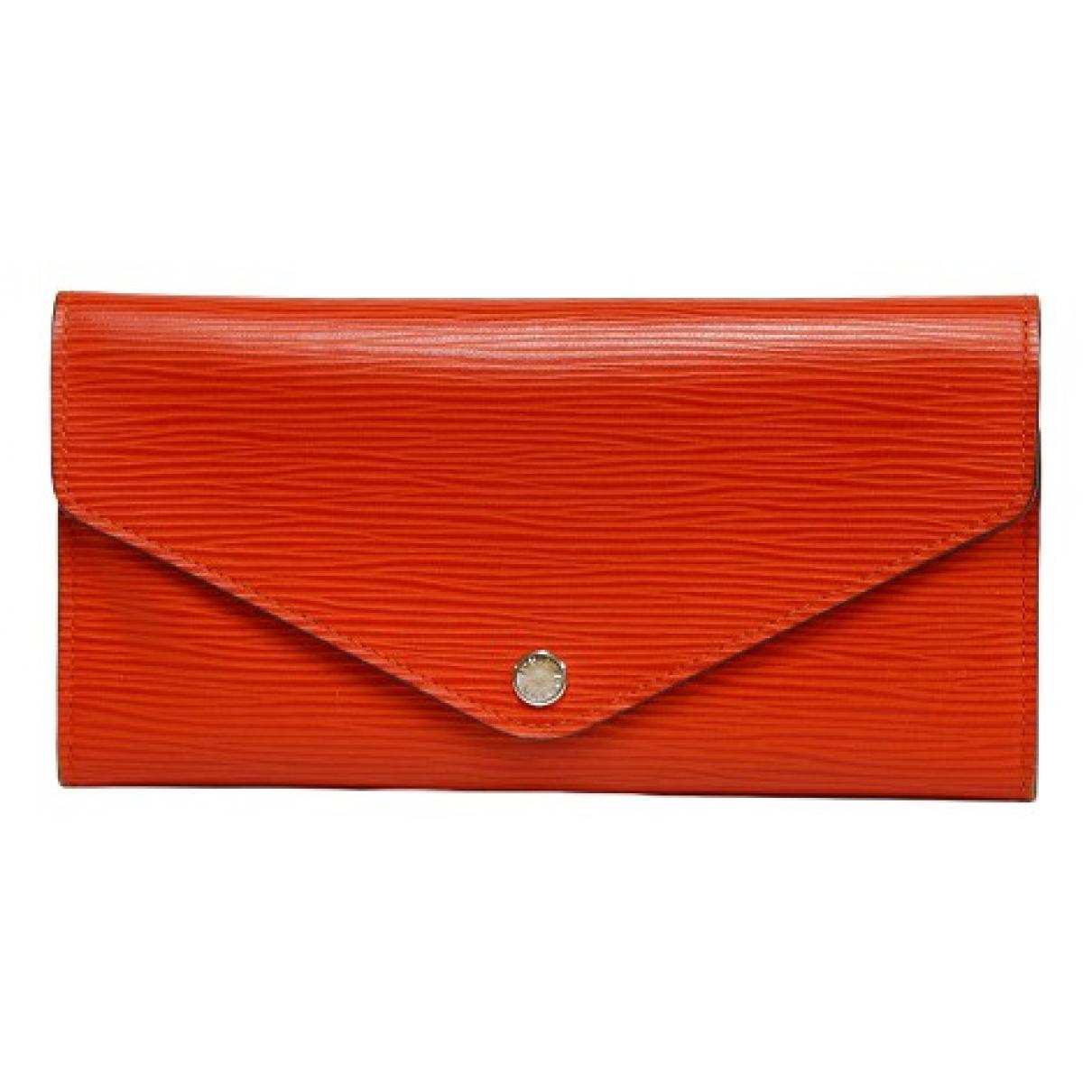 Louis Vuitton - Petite maroquinerie   pour homme en cuir - orange