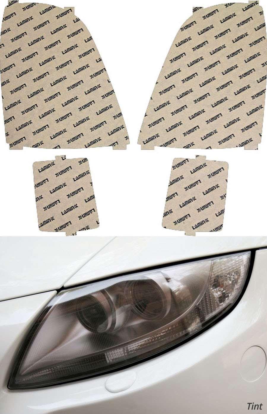 Cadillac SRX 03-09 Tint Headlight Covers Lamin-X CD006T