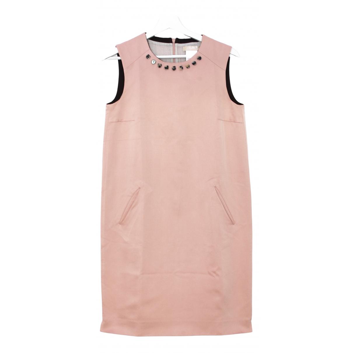 Max Mara s \N Kleid in  Rosa Baumwolle - Elasthan
